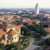Overview of Stanford Campus and Hoover Tower